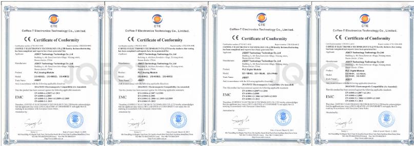 剑桥自动化ISO9001 IS014001 CE认证书